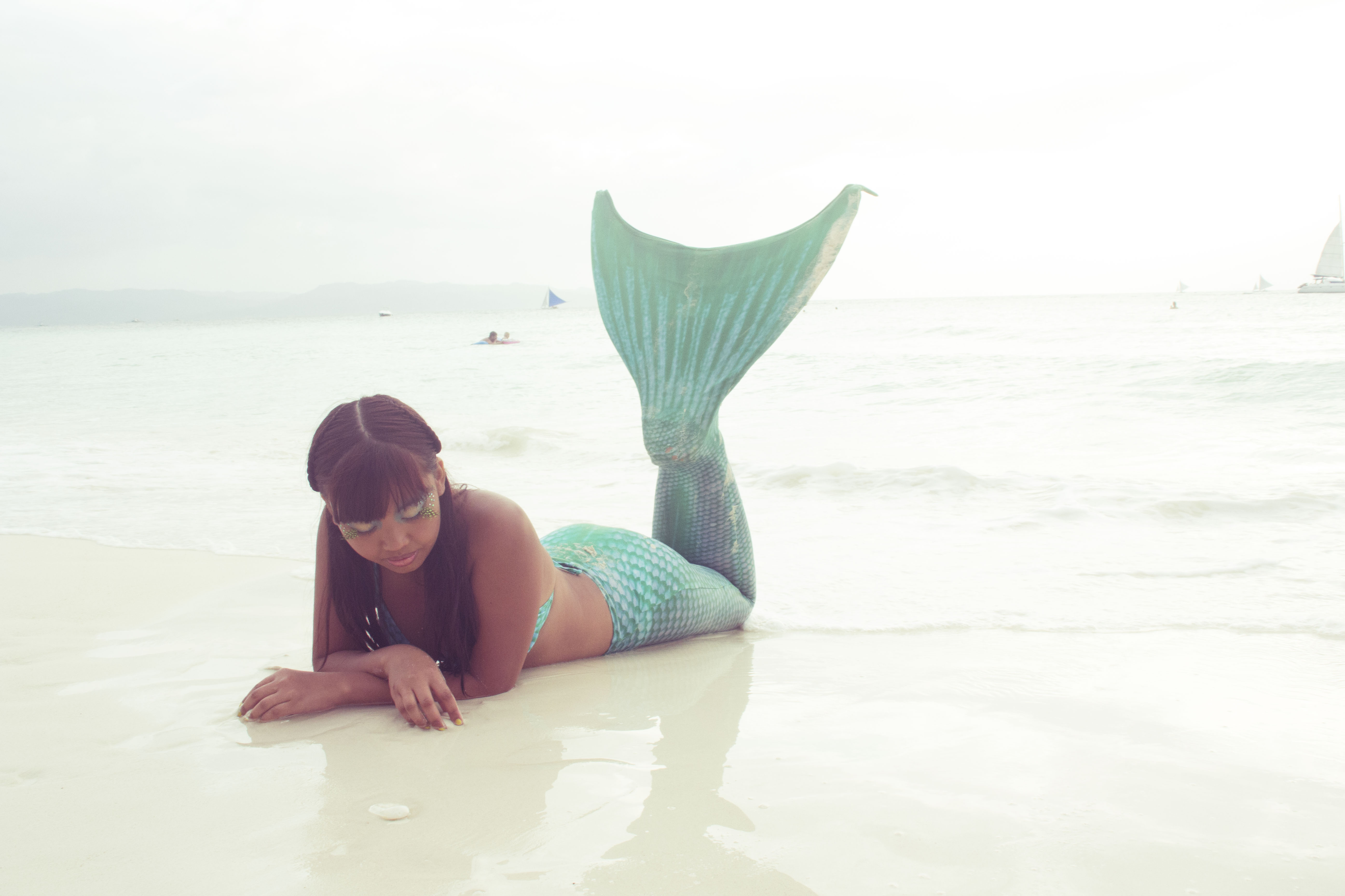 Mermaid Makeover, Boracay island, Philippines - Jusz Travel