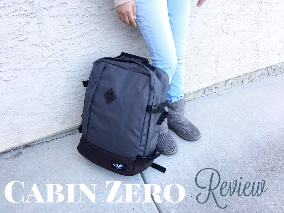 Looking for a travel backpack? Check out Cabin Zero! - Jusz Travel